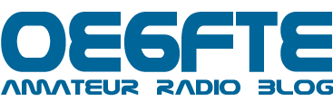 OE6FTE amateur radio blog