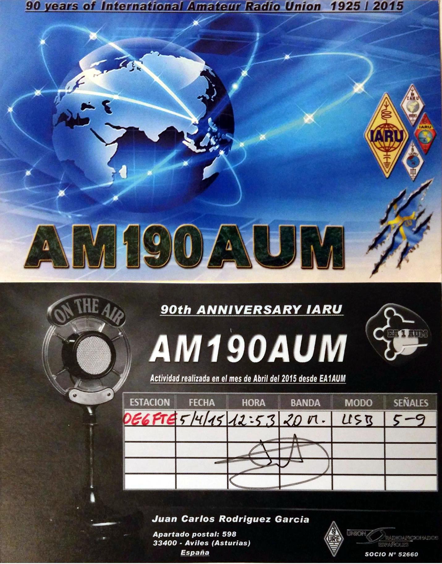 AM190AUM