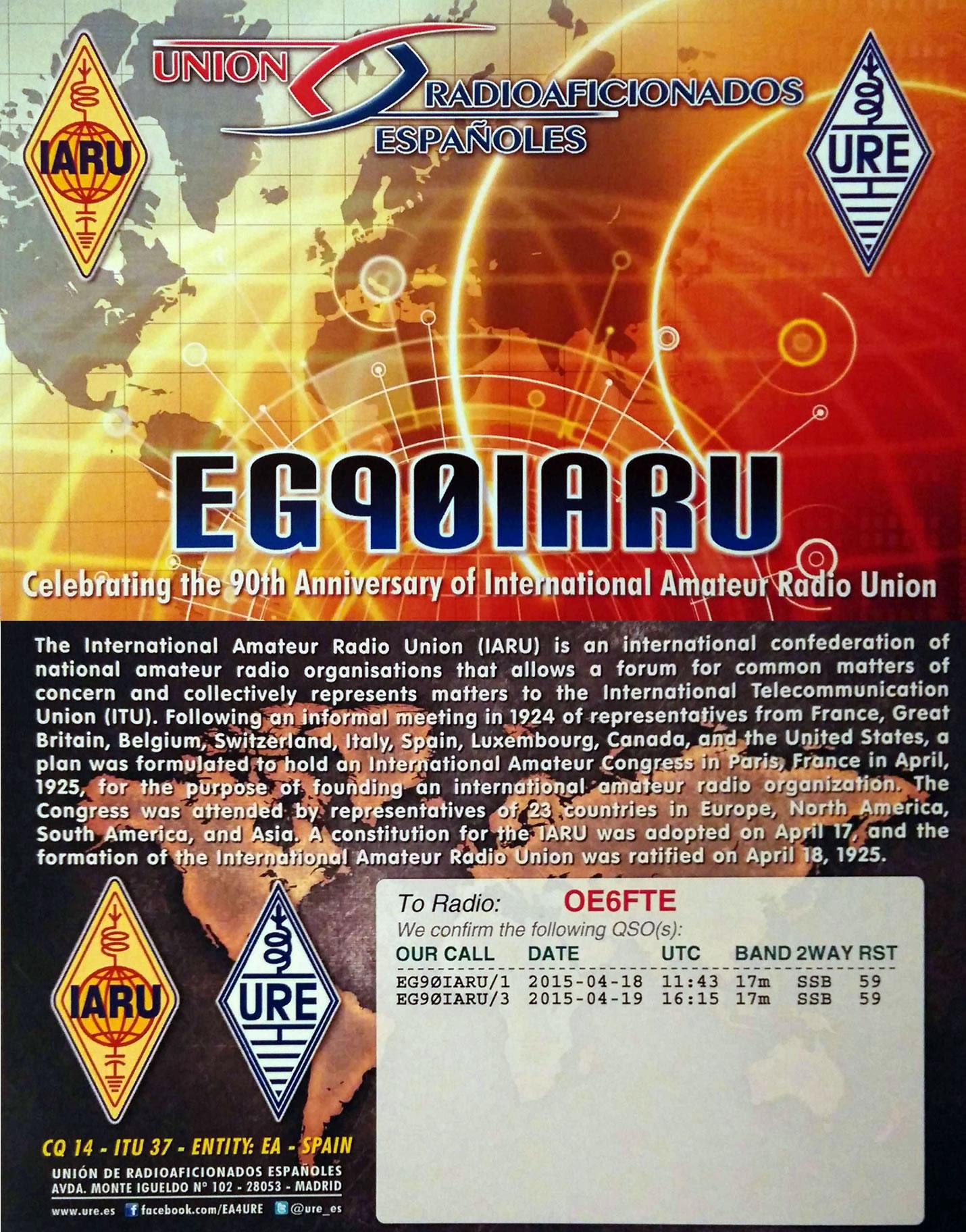EG90IARU