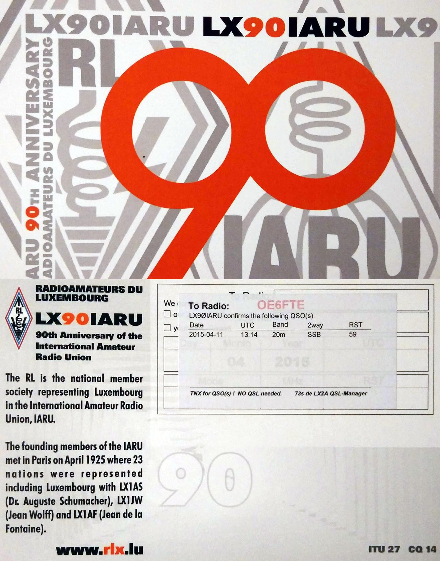 LX90IARU
