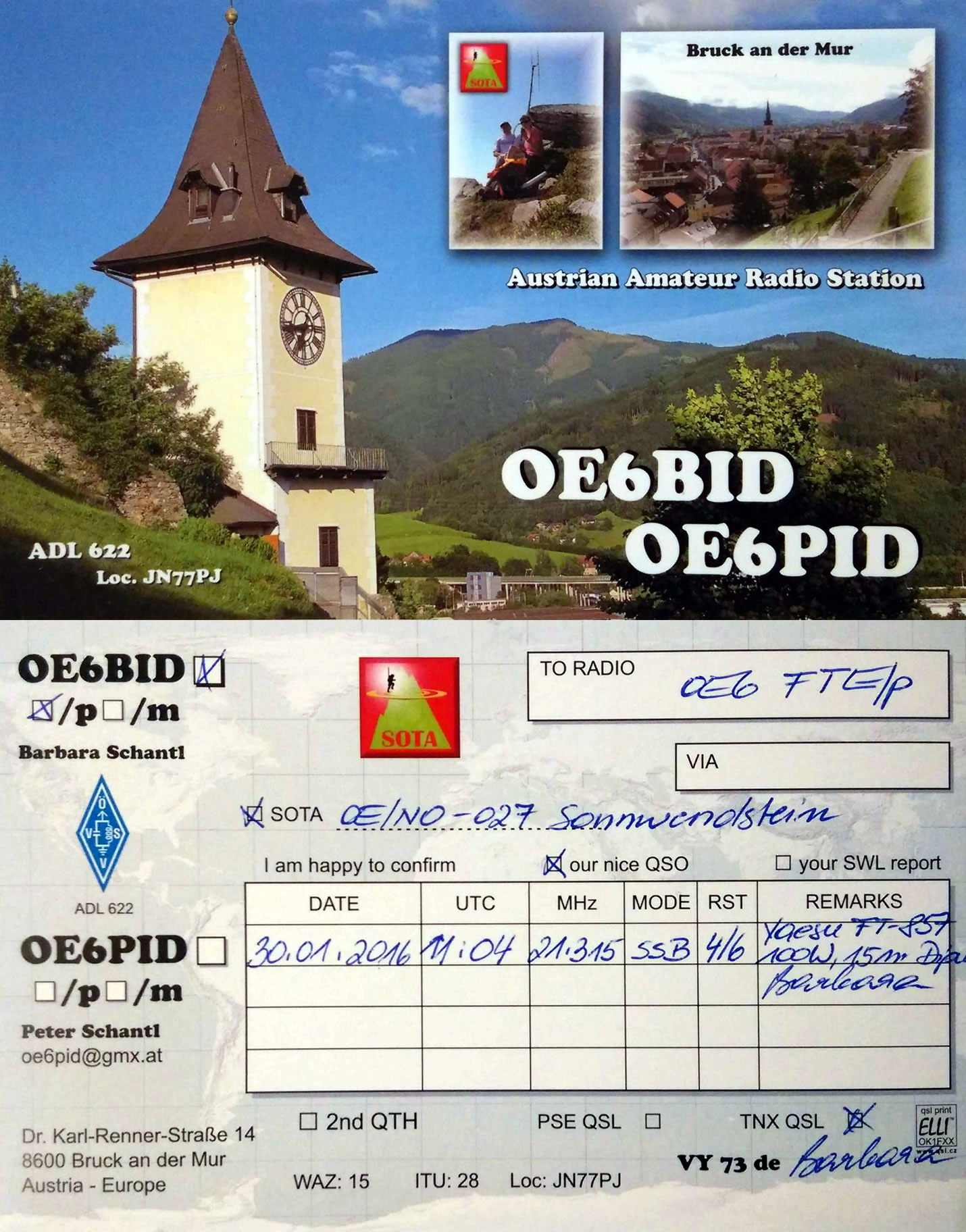 OE6BID/P