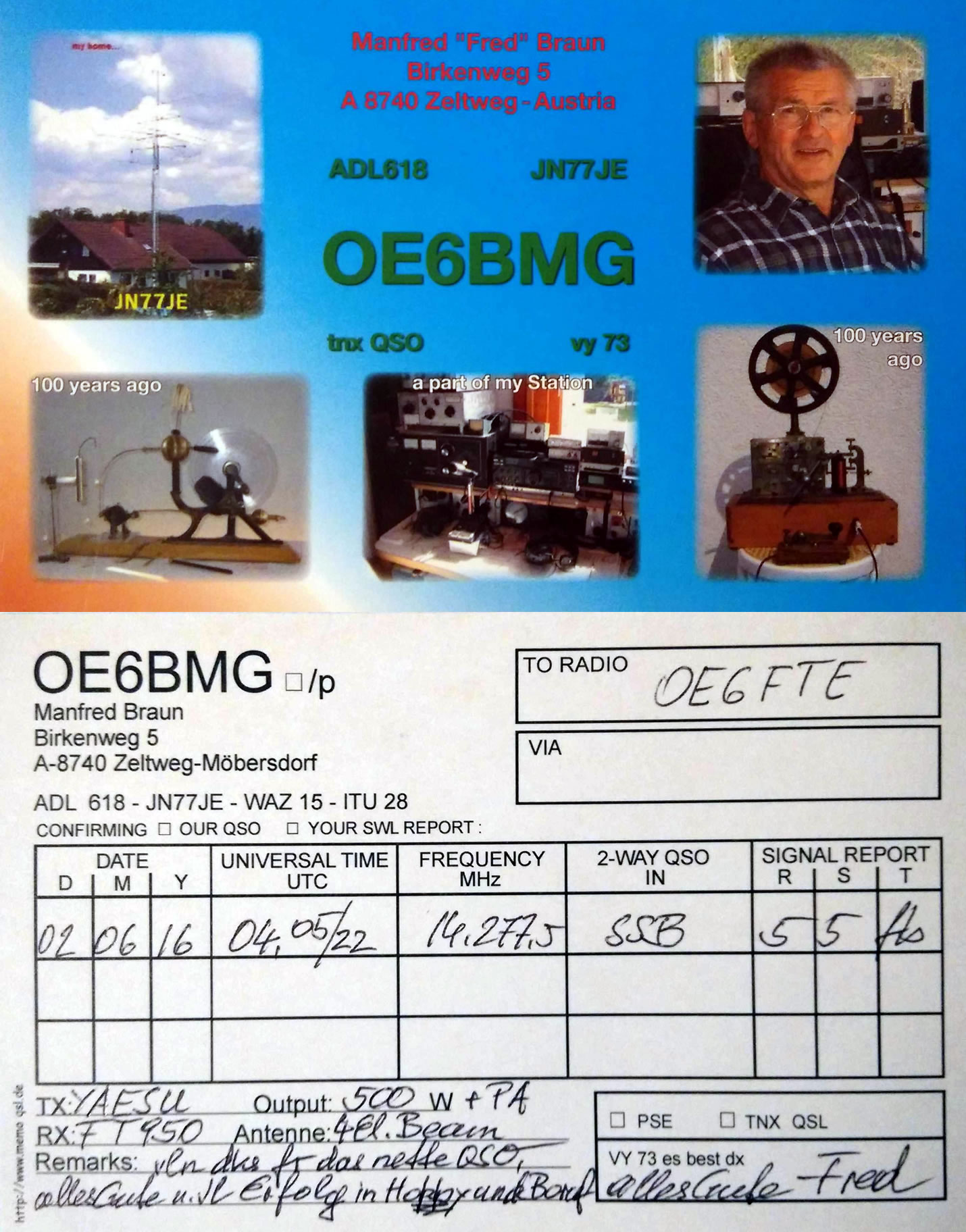 OE6BMG