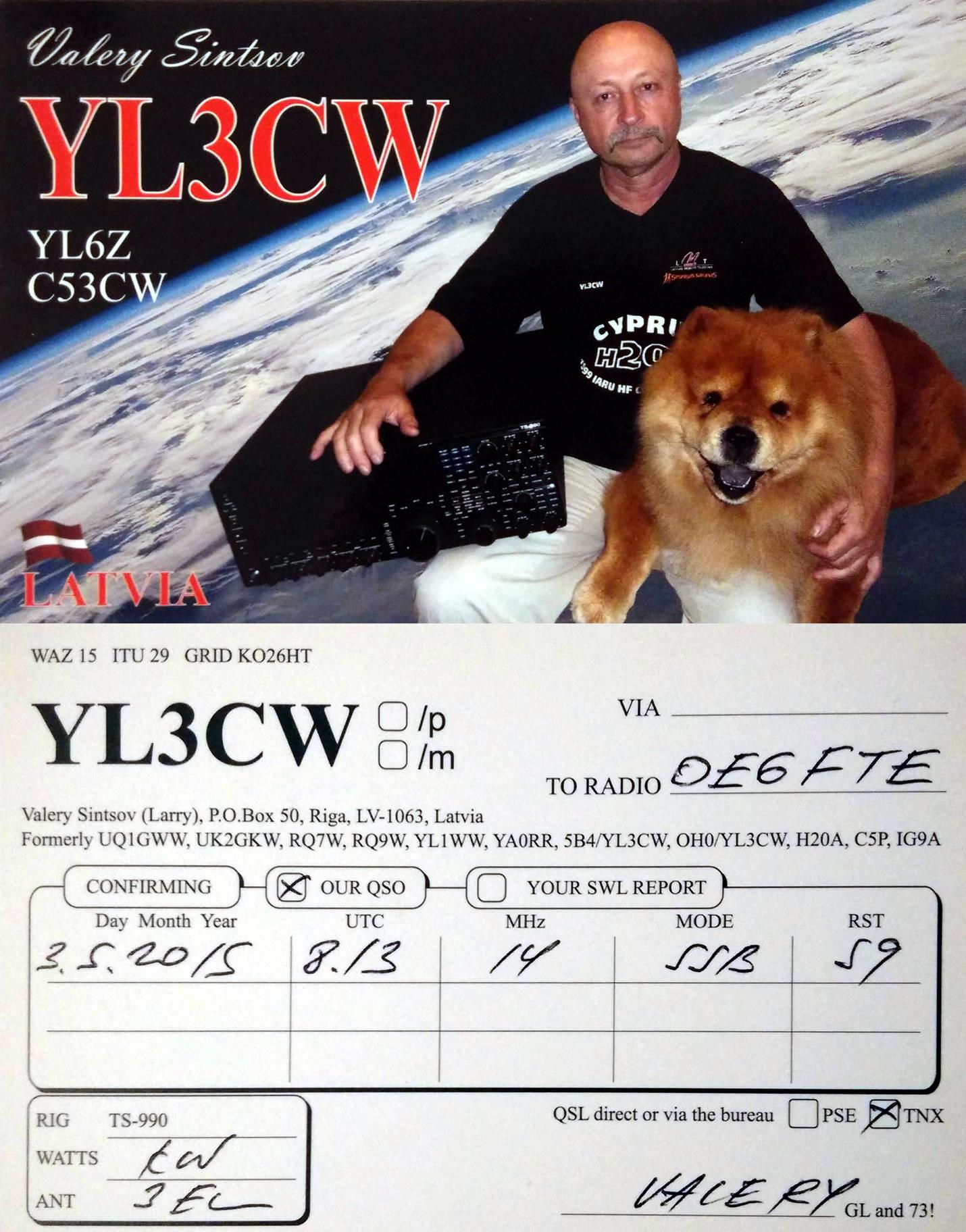 YL3CW