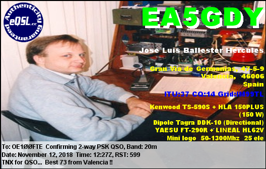 EA5GDY